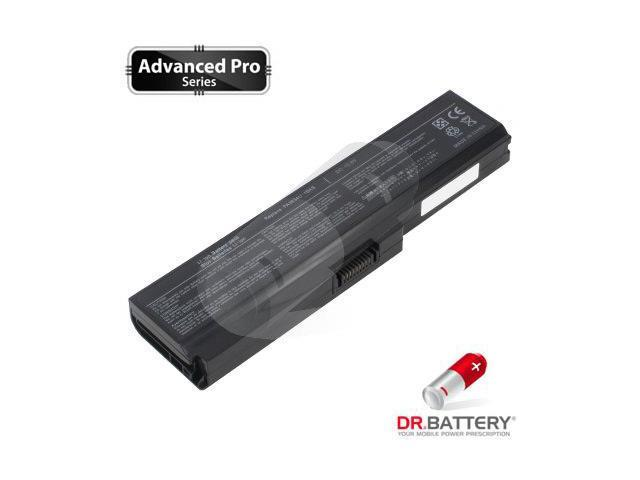 Dr Battery Advanced Pro Series: Laptop / Notebook Battery Replacement for Toshiba Satellite L675D-S7040GY (4400 mAh) 10.8 Volt Li-ion Advanced Pro Series Laptop Battery