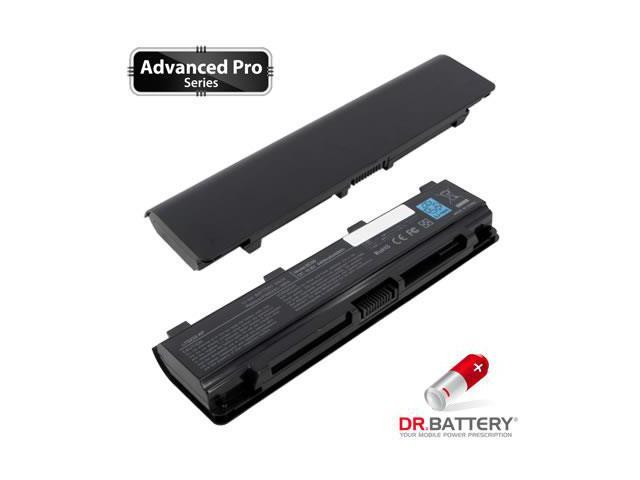 Dr Battery Advanced Pro Series: Laptop / Notebook Battery Replacement for Toshiba Satellite C855-18N (4400 mAh) 10.8 Volt Li-ion Advanced Pro Series Laptop Battery