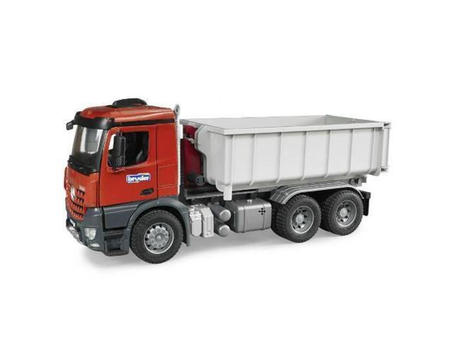 mercedes benz tipping container truck vehicle toy by