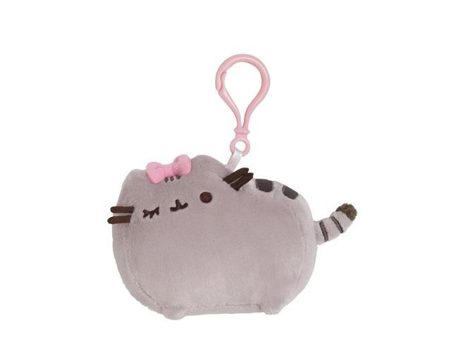 Pusheen Bow Backpack Clip 4.5 inch - Stuffed Animal by GUND (4048879)