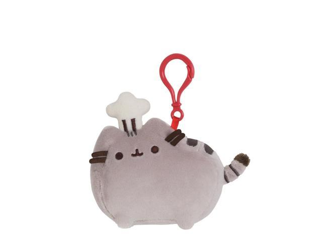 Pusheen Chef Hat Clip 4.5 inch - Stuffed Animal by GUND (4048885)