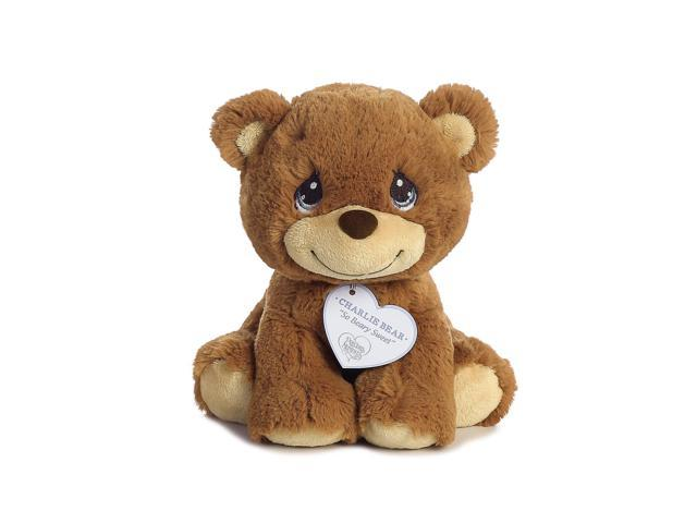 Charlie Bear 8 inch - Baby Stuffed Animal by Precious Moments (15700)