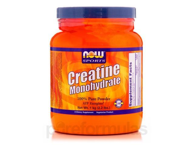 NOW Sports - Creatine Monohydrate Powder - 2.2 lbs (1 kg) by NOW