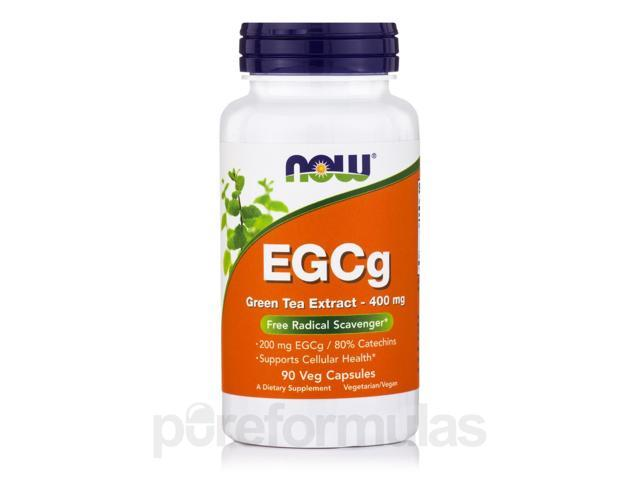 EGCg 400 mg - 90 Veg Capsules by NOW