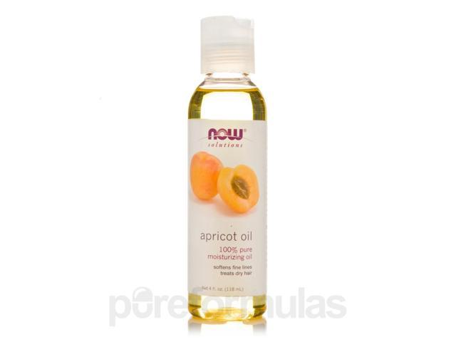 NOW Solutions - Apricot Oil - 4 fl. oz (118 ml) by NOW