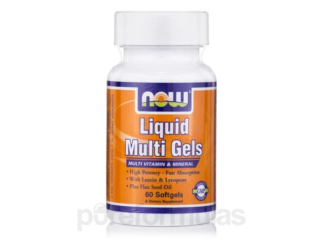Liquid Multi Gels - 60 Softgels by NOW