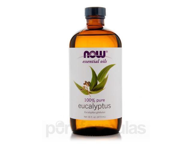 NOW Essential Oils - Eucalyptus Oil - 16 fl. oz (473 ml) by NOW