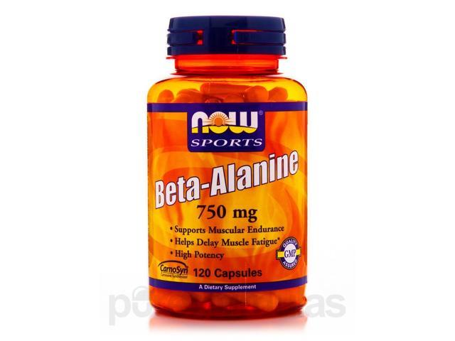NOW? Sports - Beta-Alanine 750 mg - 120 Capsules by NOW
