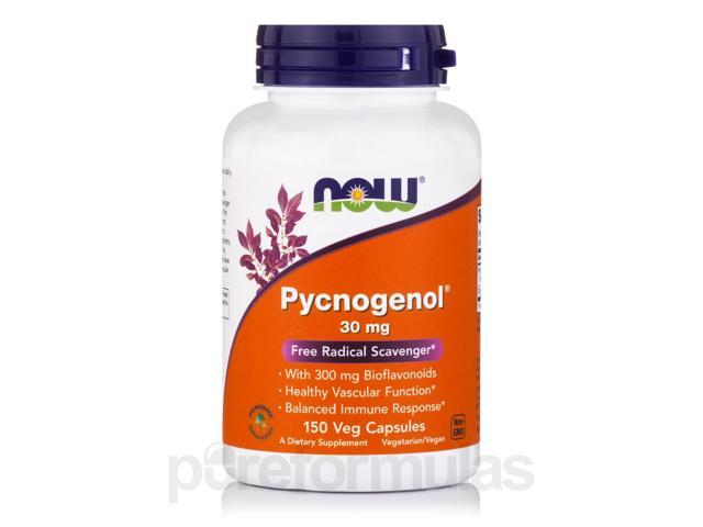 Pycnogenol 30 mg - 150 Capsules by NOW