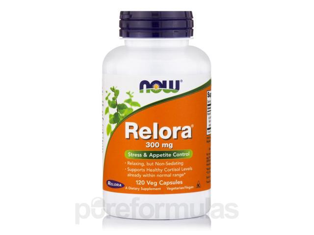 Relora 300 mg - 120 Vegetarian Capsules by NOW