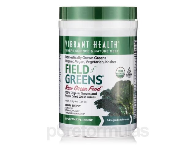 Field of Greens Powder - 7.51 oz (213 Grams) by Vibrant Health