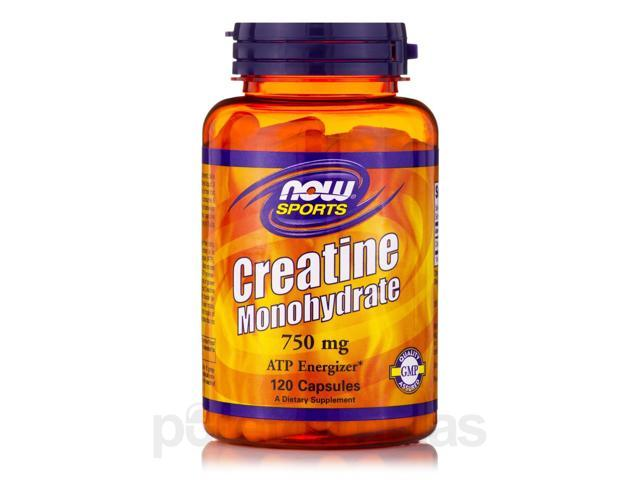 NOW? Sports - Creatine Monohydrate 750 mg - 120 Capsules by NOW