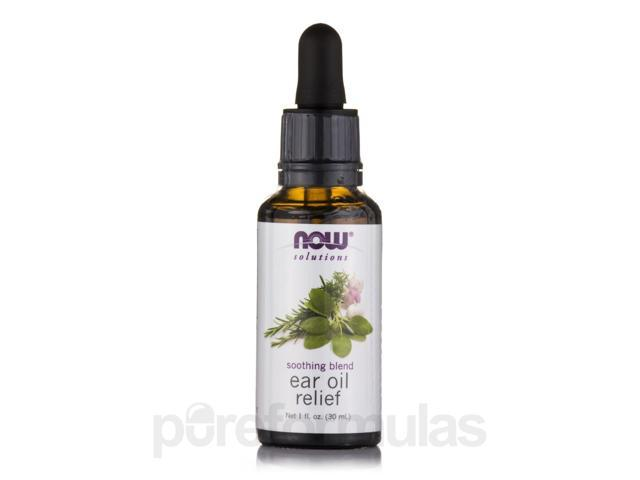 NOW Solutions - Ear Oil Relief - 1 fl. oz (30 ml) by NOW