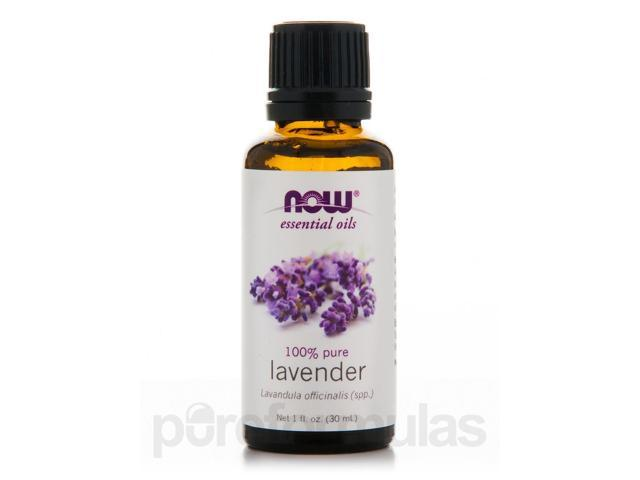 NOW Essential Oils - Lavender Oil - 1 fl. oz (30 ml) by NOW