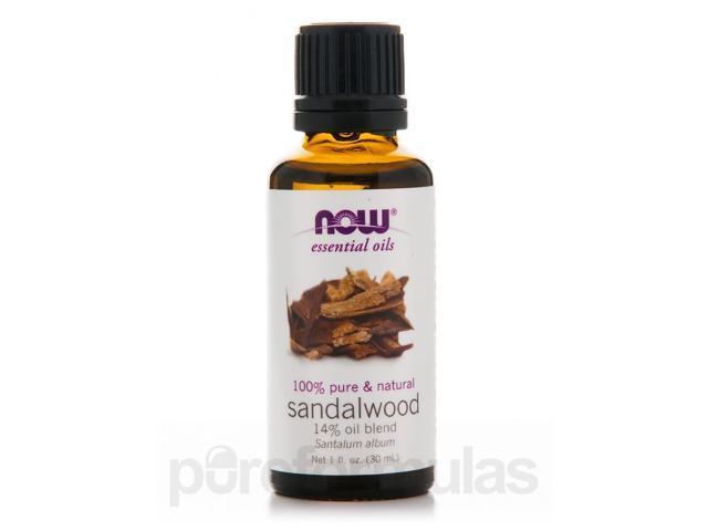 NOW Essential Oils - Sandalwood Oil Blend - 1 fl. oz (30 ml) by NOW