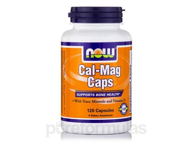 Cal-Mag Caps - 120 Capsules by NOW