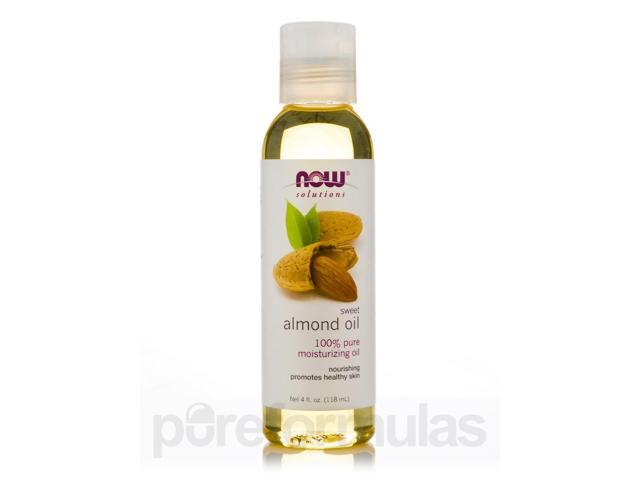 NOW Solutions - Sweet Almond Oil - 4 fl. oz (118 ml) by NOW