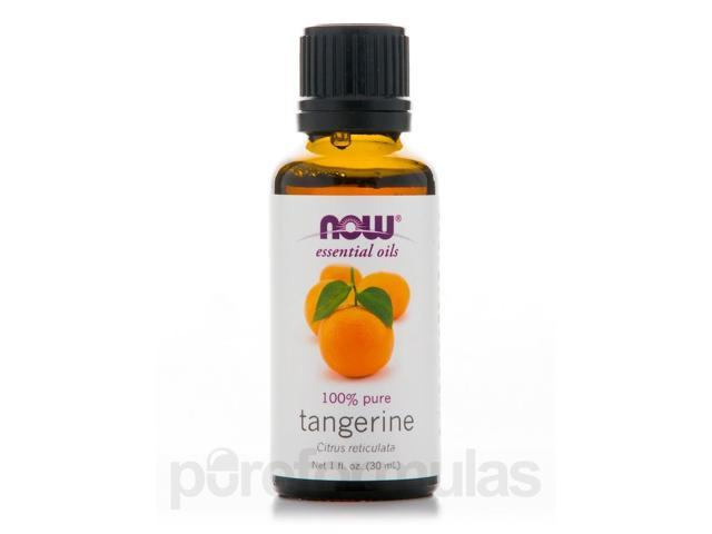 NOW Essential Oils - Tangerine Oil (100% Pure) - 1 fl. oz (30 ml) by NOW