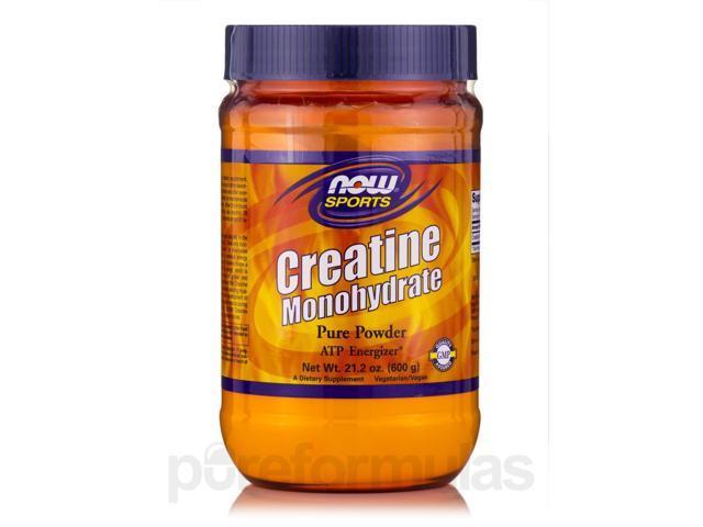 NOW? Sports - Creatine Monohydrate Powder - 21.2 oz (600 Grams) by NOW