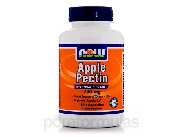 Apple Pectin 700 mg - 120 Capsules by NOW