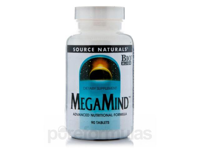 Megamind - 90 Tablets by Source Naturals