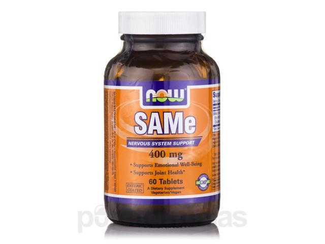 SAMe 400 mg - 60 Tablets by NOW