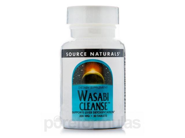 Wasabi Cleanse 200 mg - 30 Tablets by Source Naturals