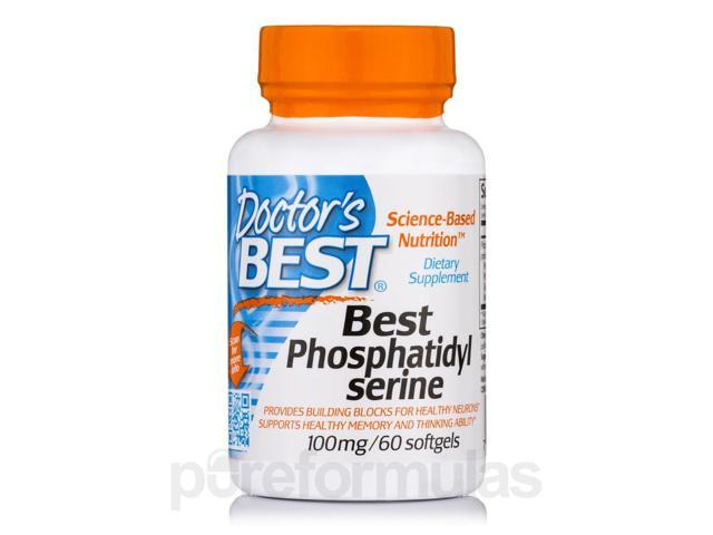 Best Phosphatidyl Serine 100 mg - 60 Softgels by Doctor's Best