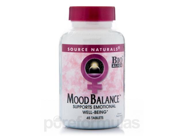 Mood Balance - 45 Tablets by Source Naturals