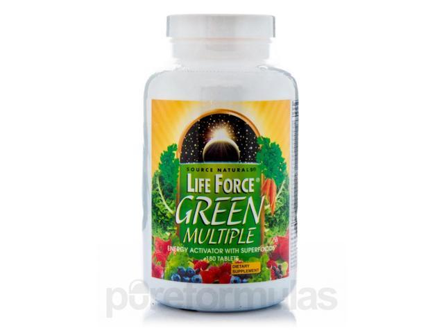Life Force? Green Multiple - 180 Tablets by Source Naturals