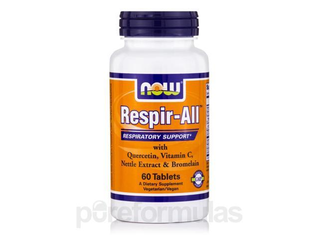 Respir-All - 60 Tablets by NOW