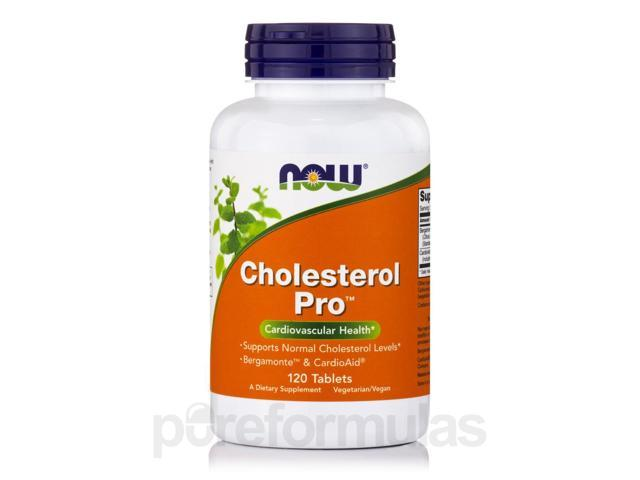 Cholesterol Pro - 120 Tablets by NOW