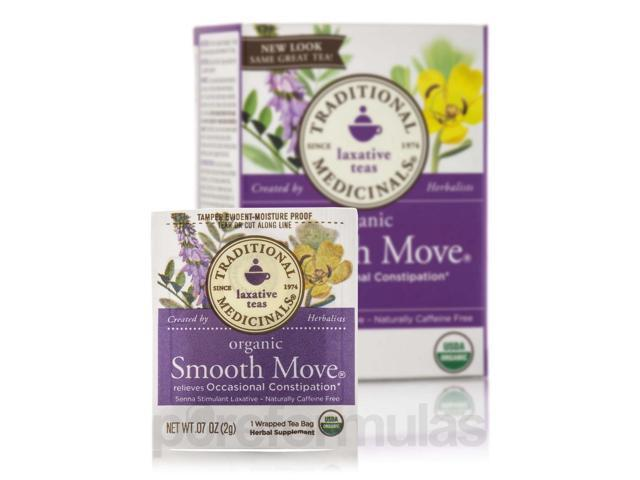 Organic Smooth Move - 16 Tea Bags by Traditional Medicinals