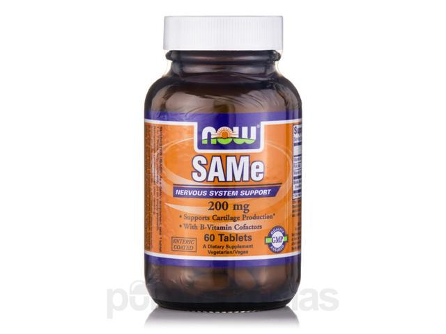 SAMe 200 mg - 60 Tablets by NOW