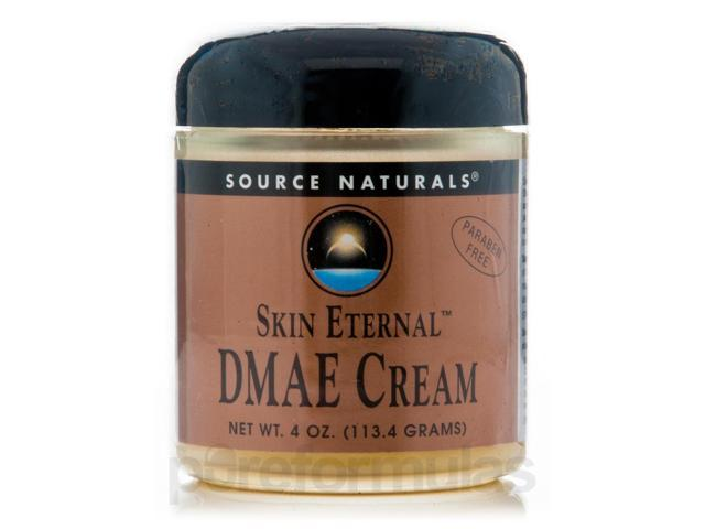 Skin Eternal DMAE Cream - 4 oz (113.4 Grams) by Source Naturals