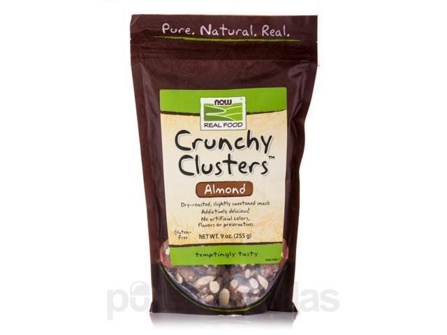 NOW Real Food - Crunchy Clusters (Almonds) - 9 oz (255 Grams) by NOW
