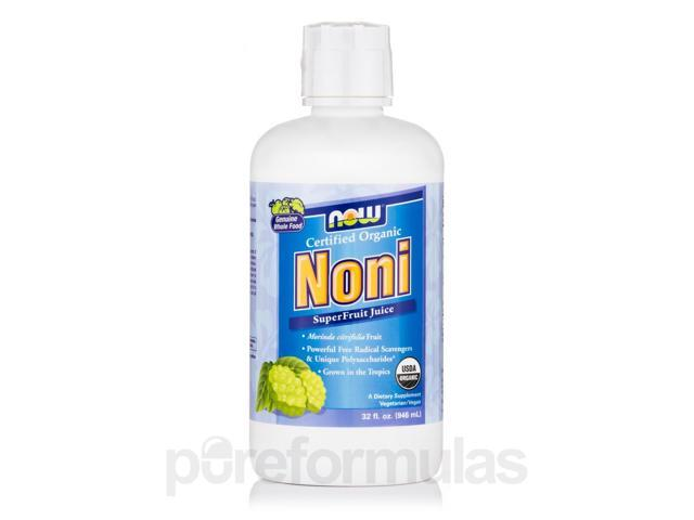 Noni Juice (Certified Organic) - 32 fl. oz (946 ml) by NOW