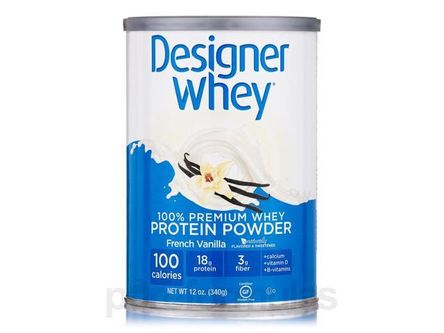 Designer Whey Protein Powder French Vanilla - 12 oz (340 Grams) by Designer Prot