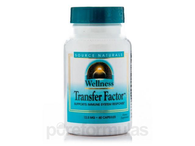 Wellness Transfer Factor - 60 Capsules by Source Naturals