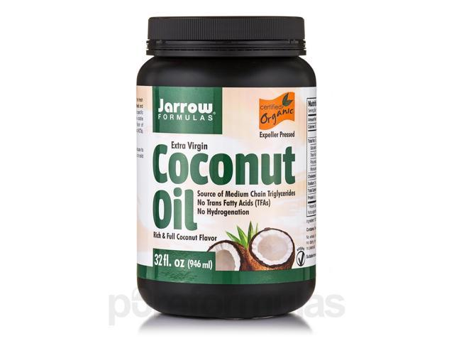 Coconut Oil Extra Virgin - 32 fl. oz (946 ml) by Jarrow Formulas
