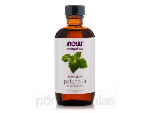 NOW Essential Oils - Patchouli Oil - 4 fl. oz (118 ml) by NOW