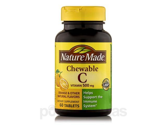 Vitamin C 500 mg - 60 Chewable Tablets by Nature Made