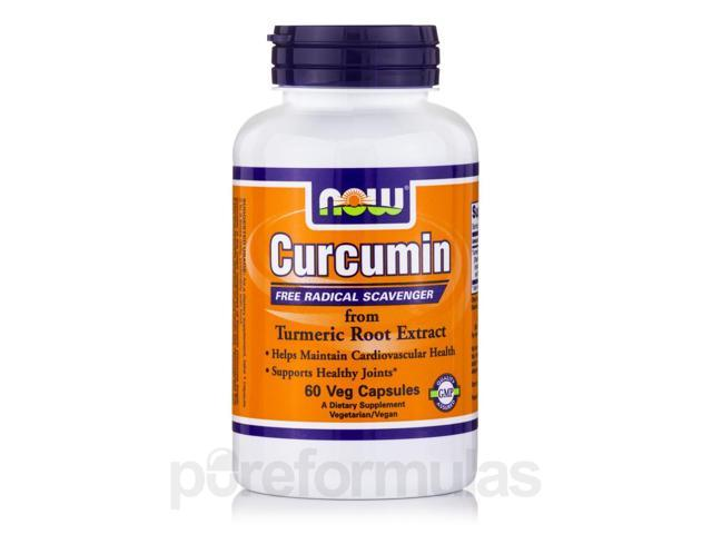 Curcumin - 60 Veg Capsules by NOW