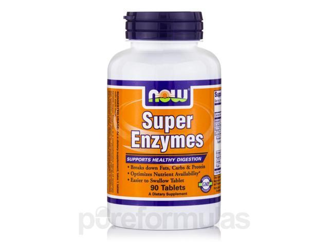 Super Enzymes - 90 Tablets by NOW