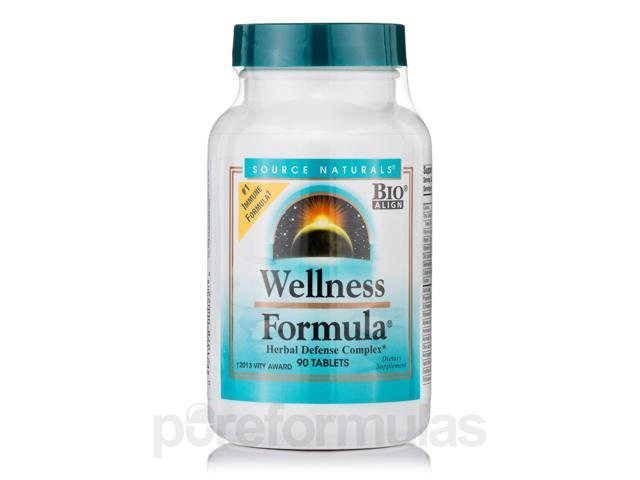 Wellness Formula - 90 Tablets by Source Naturals