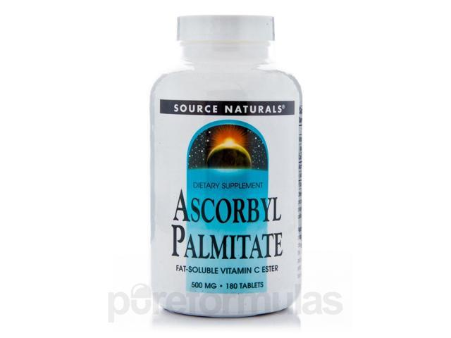 Ascorbyl Palmitate - 180 Tablets by Source Naturals