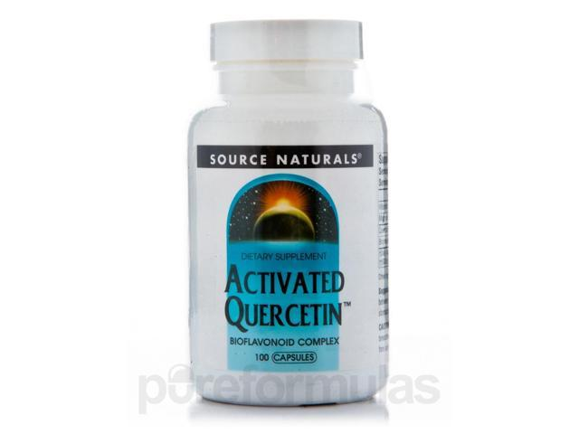 Activated Quercetin - 100 Capsules by Source Naturals