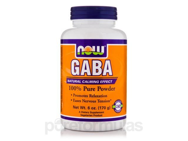 GABA (Pure Powder) - 6 oz (170 Grams) by NOW