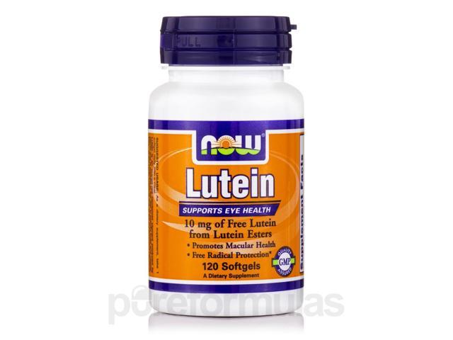 Lutein Esters 10 mg - 120 Softgels by NOW