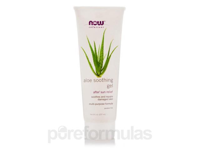 NOW Solutions - Aloe Soothing Gel - 8 fl. oz (237 ml) by NOW